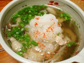 簡単!美味い!和風きのこスープ