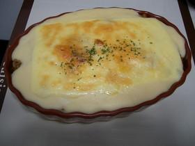 レンジで簡単ホワイトソースのカレードリア