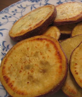 サツマイモは絶対これ!バター焼き