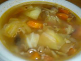 冷蔵庫の片付けスープ