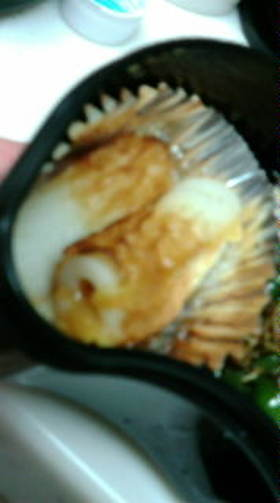 ぉ弁当☆チクワにネギ味噌とチーズをin