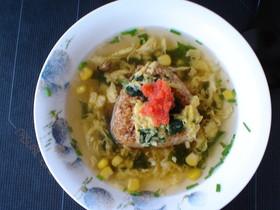 くず野菜で、美味しいスープー飯