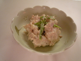 絶品サラダ 里芋♡ツナマヨ
