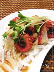 ✜たこの和風マリネ✜ 柚子胡椒でピリッ♪の写真