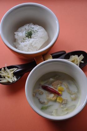 簡単!ミルクで作るカレー味のスープ