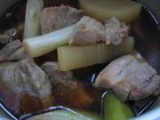 豚を煮た後の、残りの煮汁を使ってレシピ集の写真