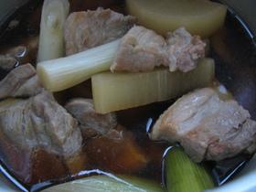 豚を煮た後の、残りの煮汁を使ってレシピ集