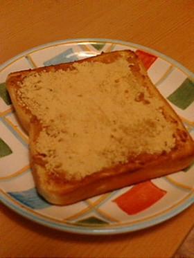 きなこきなこトースト