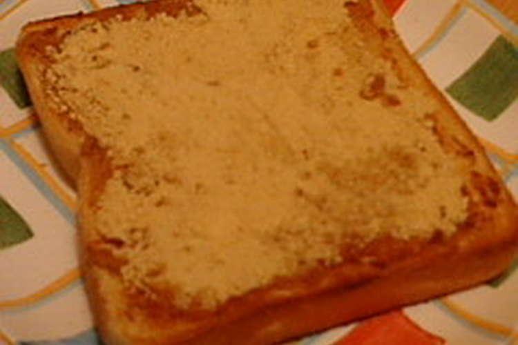 トースト きな粉 【家事ヤロウ】揚げパン風トーストの作り方、きな粉で!秋のパン祭りレシピ(11月4日)のせて焼くだけで簡単