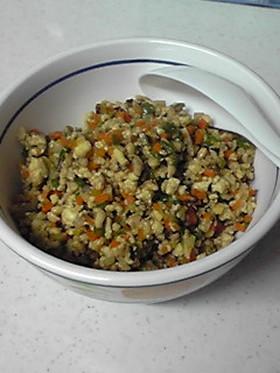 豆腐と野菜のそぼろ