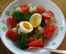 おいしい簡単彩りキレイゆで野菜サラダ