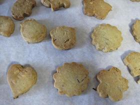 昆布とくるみのクッキー