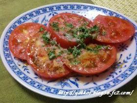 そのまんま☆ トマトのチーズ焼き