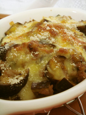 絶品♡茄子と挽肉の味噌チーズ焼き✿