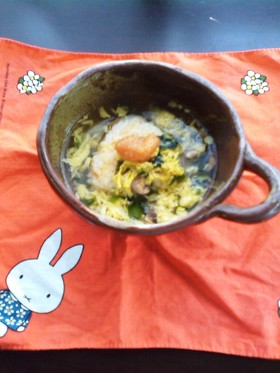 スープ飯・明太風味