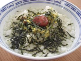 卵スープ雑炊