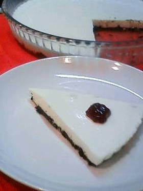 【さっぱり】レアチーズケーキ【さわやか】
