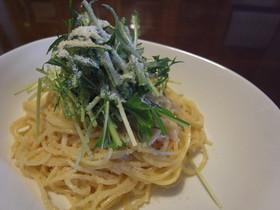 (・v・)めんたいこのスパゲッティー
