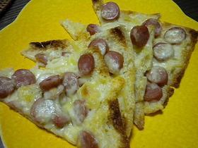 かる~い油揚げピザ