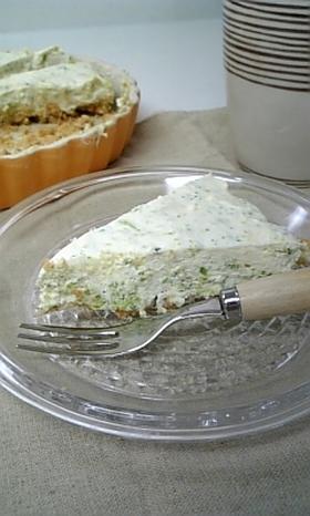 お試しか!なブロッコリーレアチーズケーキ