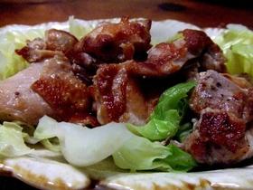 【フライパン一つで】鶏肉キャベツ