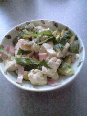 豆腐&アボカドサラダ