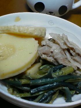 筍とわらびの炊き合わせ☆
