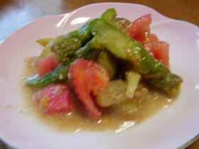 夏野菜たっぷりスラダ