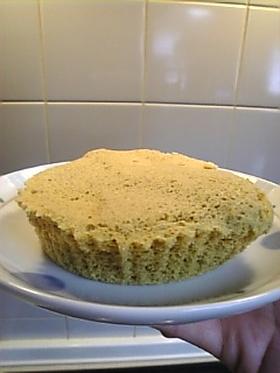 全粒粉★おから抹茶ケーキ