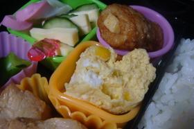 お弁当に☆レンジで簡単たまご