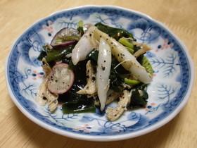 根芋(ねいも)の酢の物サラダ☆ゴマ風味