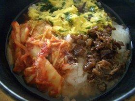 韓国風☆たまご雑炊