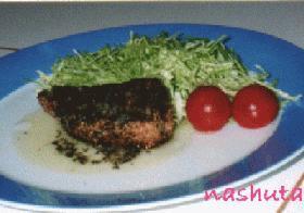 たまには違う楽しみ方で☆バジルソースでブリを食べよう!