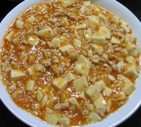 超簡単なウチの麻婆豆腐