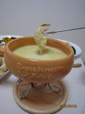 衝撃!!我が家のチーズフォンデュ☆