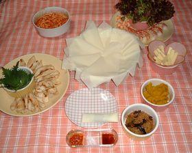 すごくおいしいダイエット!テーブルで、揚げないハ・ル・マ・キ