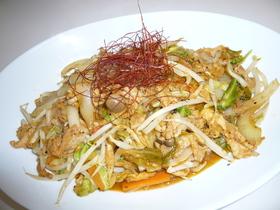 たっぷり野菜の豚肉キムチ