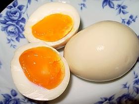 材料2つ!漬けるだけの簡単半熟煮卵