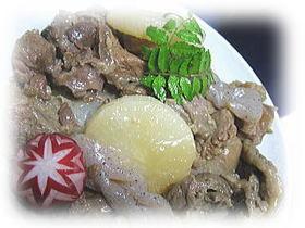 ☆簡単☆牛すじ大根の味噌煮