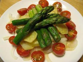 めんつゆでおいしい野菜サラダ☆