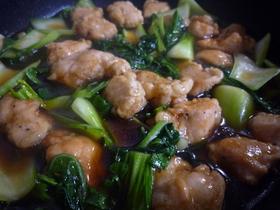 ★☆青梗菜と鶏肉の中華あんかけ★☆