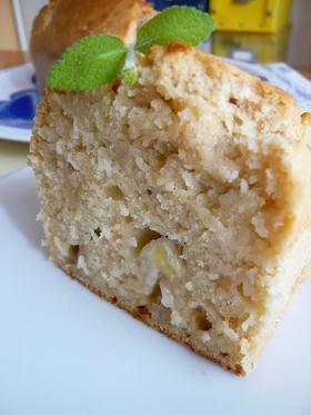 米粉でもちもち バナナ豆乳ケーキ