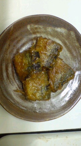 秋刀魚の味噌煮