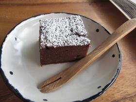 ヘルシー♪お豆腐のガトーショコラ