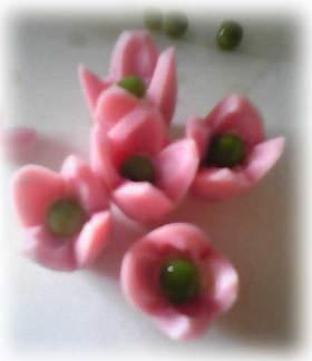 キャラ弁★ぎょにそで可愛いお花