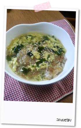 さくさくおこげ in スープ