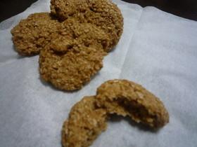 ノーオイル!ふすまクッキー☆