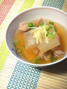 冬瓜なのに旬は夏!!!冬瓜とトリのスープ