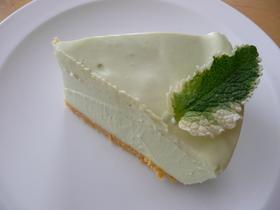 アボガドのレアチーズケーキ