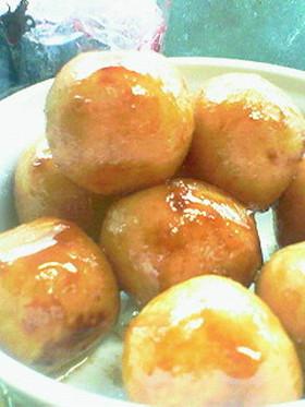 冷凍里芋コロコロ醤油簡単サイドディッシュ